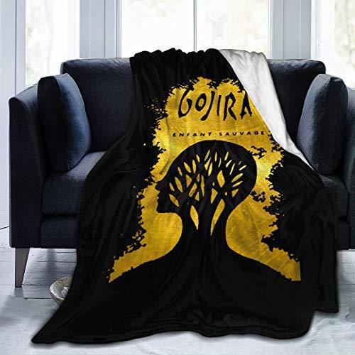 Trikahan Gojira L'enfant Sauvage Sherpa Fleece Blanket Ultra Soft and Cozy Throws (50