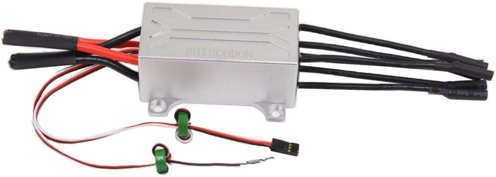 chiwanji 電子スピードコントローラ P-X8グレード ESC 90A ブラシレス モーターパーツ 防水性 交換部品 RC部品