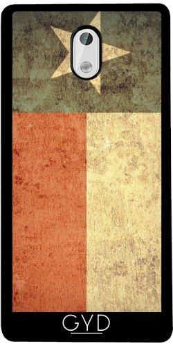 Funda de silicona para Nokia 3 - Grunge Bandera De Texas by Warp9