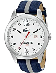 Lacoste Mens 2010722 - Auckland Blue/White Watch