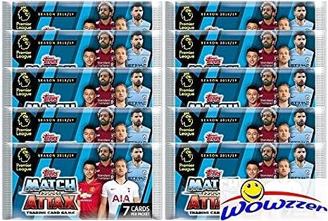 2018 19 Topps Match Attax English Premier League Soccer Collection of  TEN(10) 2418e939e14fc