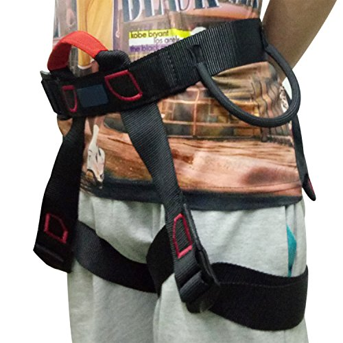 Climbing Harness, Outdoor Rescue Rock Climbing Sitting Bust Belt Safety Seat Rappelling Harness