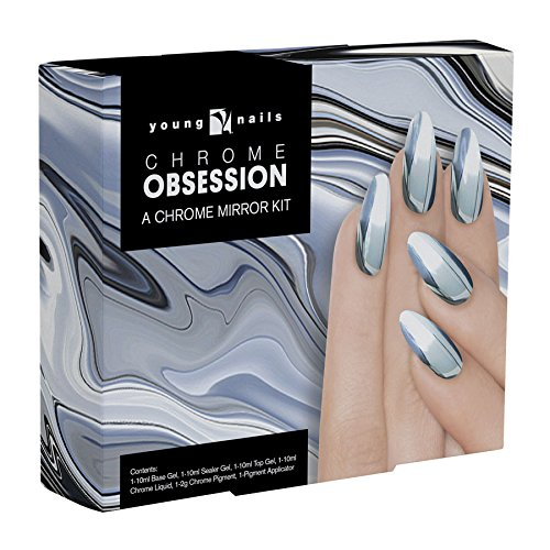 Young Nails Glitter Chrome Obsession Kit by Young Nails