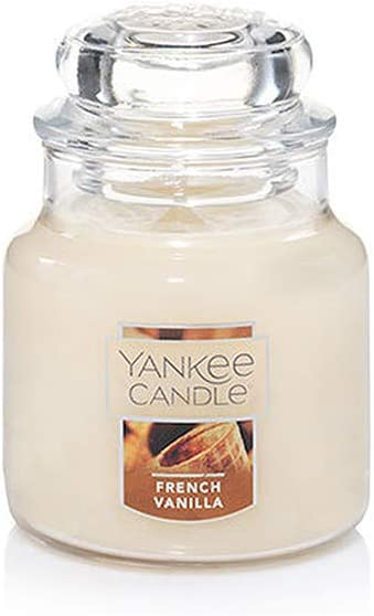 Amazon Com Yankee Candle French Vanilla Small Jar Candle Food Spice Scent Home Kitchen