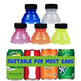 Mity rain 6 Pack Can Bottle Tops/Pop Can Lids For