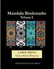 Mandala Bookmarks Volume 2: Large Print Cross Stitch Patterns