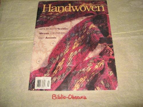 Weavers Craft Issue - Handwoven Magazine November/December 1995