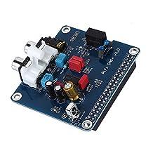 Sound Card Module - SODIAL(R)PIFI Digi DAC+ HIFI DAC Audio Sound Card Module I2S interface for Raspberry pi 3 2 Model B B+ Digital Audio Card Pinboard V2.0 Board SC08