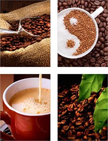 Medianlux Fliesenaufkleber Bild Fliesenbild Fliesen Aufkleber Kaffee Bad K/üche Deko Mosaik FP1P19 10x15cm