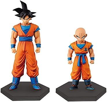 superestructura de Dragon Ball Z Coleccioen ? ? tres Goku Krilin ...