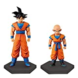 Banpresto Dragon Ball Z Super Formative Krillin & Son Goku Ep. 3 Figures (Set of 2)