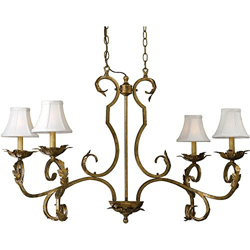 AF Lighting 6735 4-Light Chandelier Candice Olson Chandelier Light