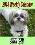 2018 Weekly Calendar Shih Tzu