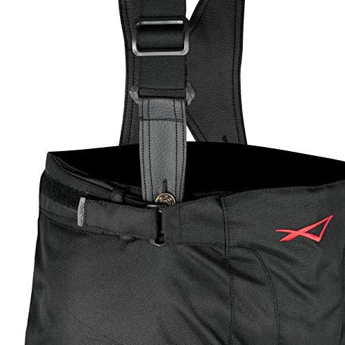 Pantaloni 3 Strati Moto Tessuto Cordura Impermeabile