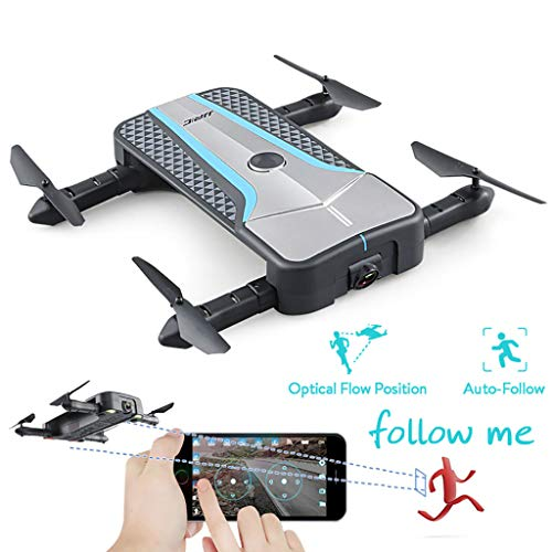 Foldable Drones with 720P Camera, RC Helicopter Quadcopter with Headless Model, Rc Drone with 2 Batteries for Kids and Adults, Easy to Fly Even to Kids and Beginners.(H62)