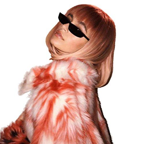 rétro Mamum a femme Lunettes de UV pour Style rectangulaires soleil PO8PxqSw