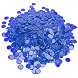 Bry Belly GBIN-304 1000 Pack Blue Bingo Chips