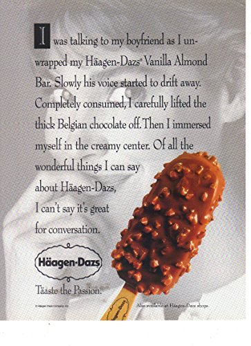 vintage-print-ad-1991-haagen-dazs-vanilla-almond-bar-ice-cream-taaste-the-passion