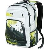 High Sierra Malcolm Backpack, Bridge/White/Tungsten, Bags Central