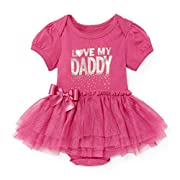 The Children's Place Baby Girls' Tutu Graphic Body Suit, Everblooming 90533, 0-3MONTHS