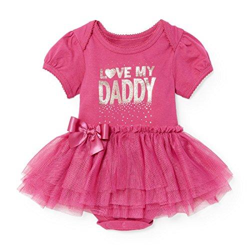 The Childrens Place Baby Girls Long Sleeve Tutu Bodysuit.