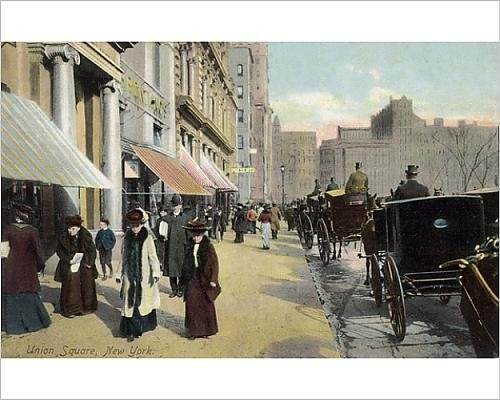 10x8 Print of Union Square in New York City, USA - Union Shopping Square At