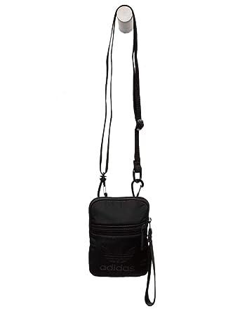 8e076679ba ADIDAS Originals Trefoil Festival Crossbody Bag, Black