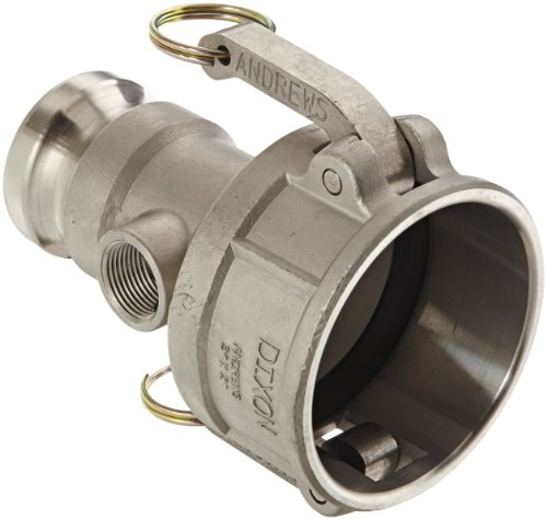 Dixon 3020DAT75SS Stainless Steel 316 Cam and Groove Reducing Hose Fitting, 3