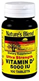 Cheap Nature`s Blend Vitamin D3 5000IU Tablets 100 ct (2 pack)