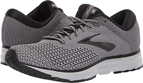 - Brooks Men's Revel 2 Black/Oyster/Pearl 10.5 D US