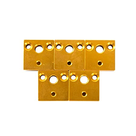 Impresora 3D Accesorios de Impresora Kit de boquillas Bloque de ...