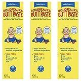 Boudreaux's Butt Paste Diaper Rash Ointment  | Original | 4 Oz | Pack of 3