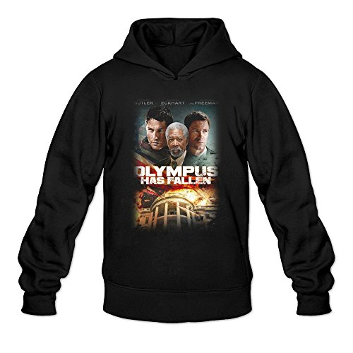 MARY Men's 2016 Drama London Has Fallen Poster Hoodie Black