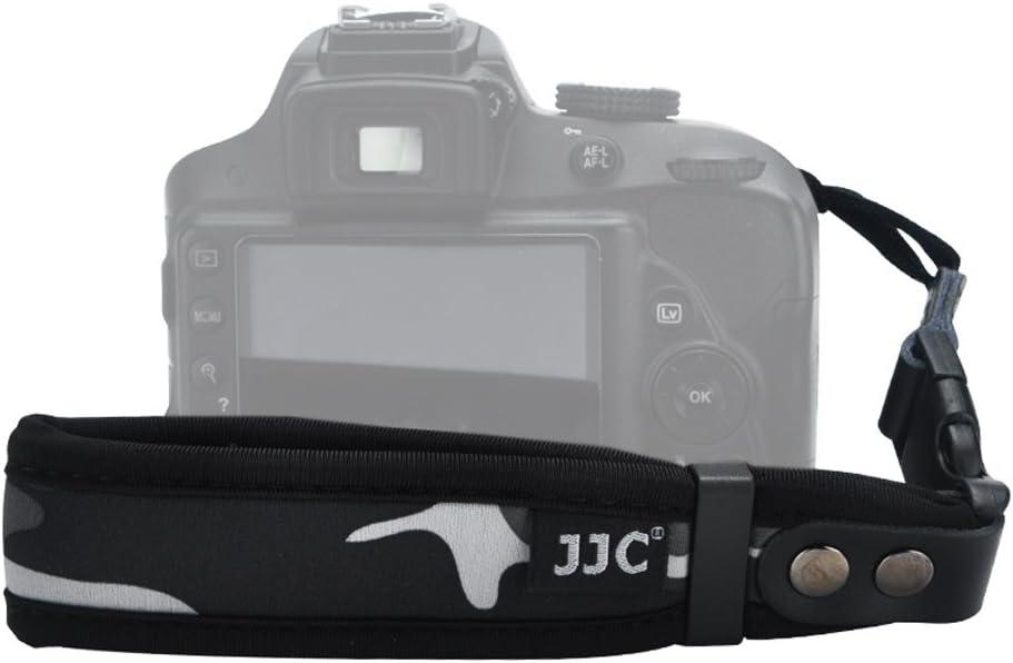 DSLR Camera Wrist Strap JJC Hand Wrist Strap for Canon T6 T5 T3 XS T7i T6i T6s SL2 7D 6D 5D 1D 80D 77D Nikon D3400 D3300 D7500 D7200 D5600 D90 D80 D850 D810A D5 Sony A99 A77,etc Camouflage Green
