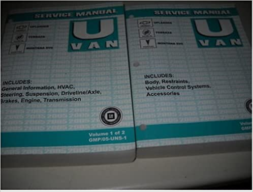 05 pontiac montana sv6 manual