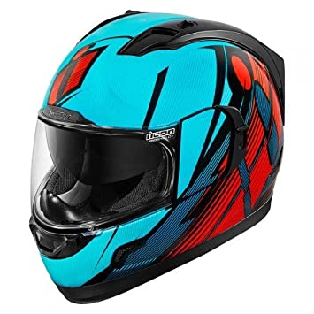 Casco Icon – Alliance GT Primary azul/rojo XS -0101 – 8993