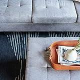 Casa AndreaMilano 2 Piece Modern Grey Soft Tufted