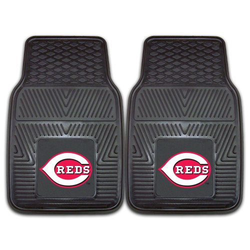 Fanmats 8834 MLB-Cincinnati Reds Vinyl Universal Heavy Duty Fan Floor Mat ()