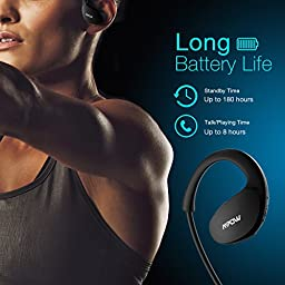 Mpow [Gen-3] Cheetah Bluetooth Headphones V4.1 Wireless Sport Headphones Sweatproof Running Workout Headset