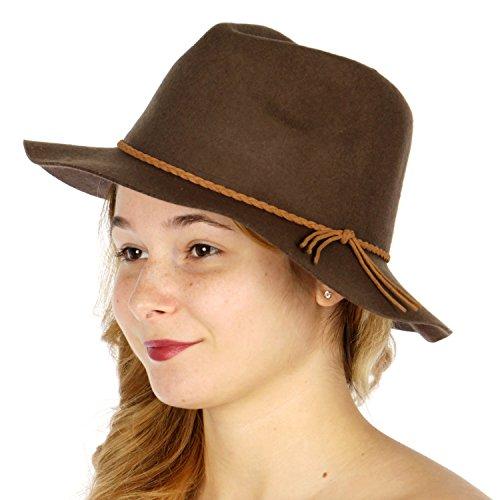 Women (Brown Cloche Hat)