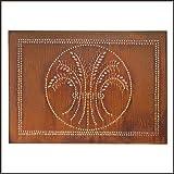 pie safe tin panels - Horizontal Wheat Cabinet Panel in Rustic Tin