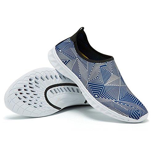 secado caminar de playa Aqua de agua Zapatos yoga A Unisex jardín Unisex conducción Shoes canotaje para de parque Deportes rápido natación zapatos lago wICqg6q