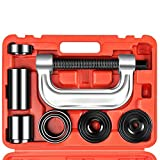 Orion Motor Tech Heavy Duty Ball Joint Press & U Joint Removal Tool Kit with 4x4 Adapters, for Most 2WD and 4WD Cars and Light Trucks