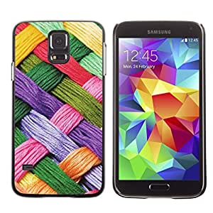 Graphic4You WOOLEN ART PATTERN HARD CASE COVER FOR Samsung Galaxy S5