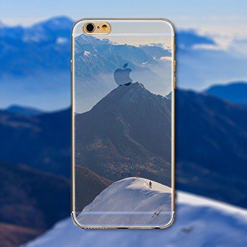 Coque iPhone 7 Housse étui-Case Transparent Liquid Crystal en TPU Silicone Clair,Protection Ultra Mince Premium,Coque Prime pour iPhone 7-Paysage-style 28