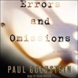 Front cover for the book Errors and Omissions by Paul Goldstein