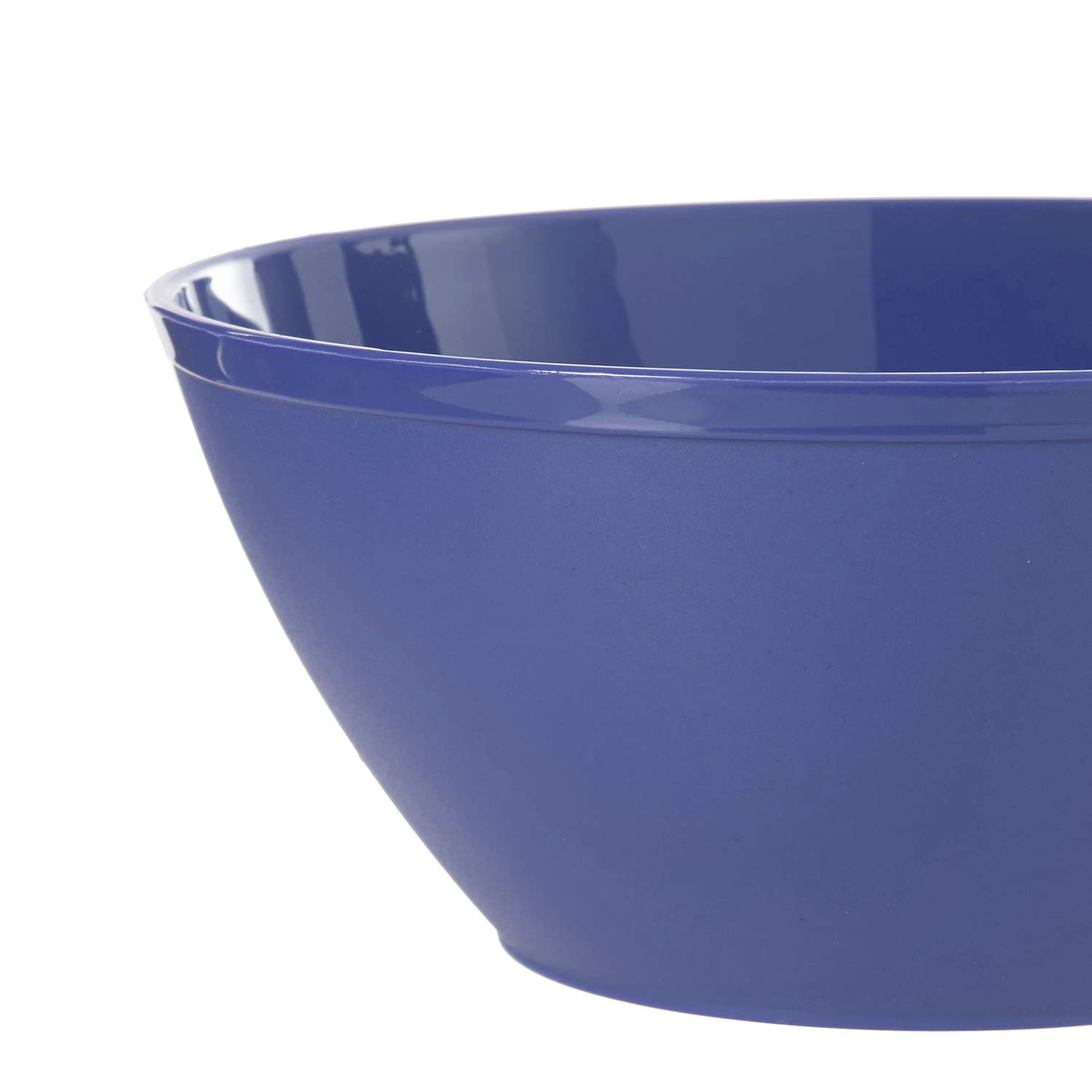 Fresco 6-inch Plastic Bowls for Cereal or Salad | set of 8 in 4 Coastal Colors by US Acrylic (Image #6)