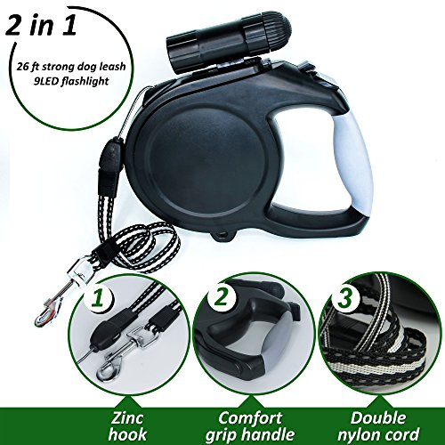 Large Dog Leash Retractable Comfortable product image