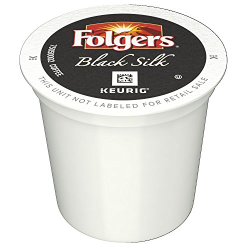 Folgers Black Silk Coffee, Dark Roast, K-Cup Pods for Keurig K-Cup Brewers, 12-Count (Pack of 6) by Folgers (Image #3)