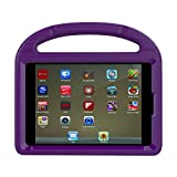 iPad 9.7 Case - iPad 9.7 Covers for Kids - ThreeJ Light Weight Portable Shockproof Super Protection Handle Stand Cover for iPad 9.7 2018 2017 (iPad 9.7-inch - Purple)